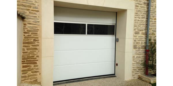 porte garage aluminium Aludecoration