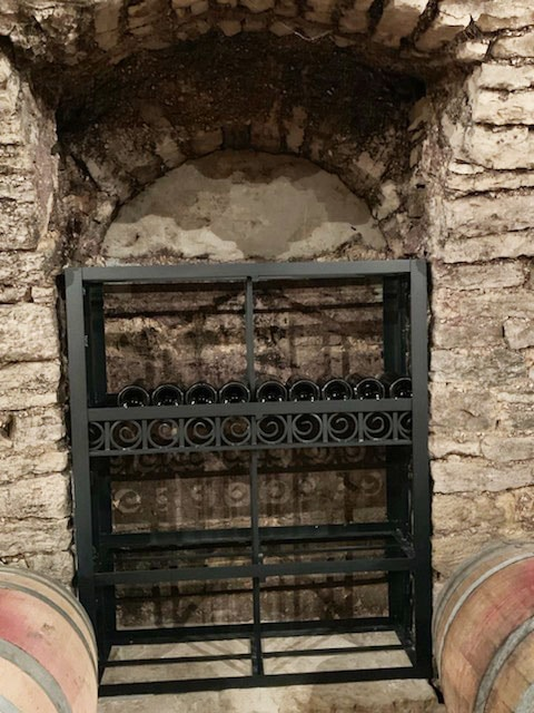 grille de vinothèque